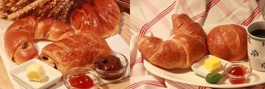 Croissants / Lauge